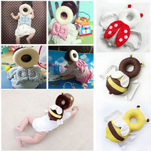 2018 Cute Baby Infant Toddler Head Back Protector Safety Pad Harness Headgear Bee Ladybug Shape Soft High Quality