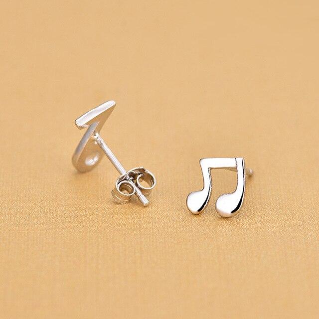 Фото модные музыкальные нотки серебряный цвет красивые миниатюрные