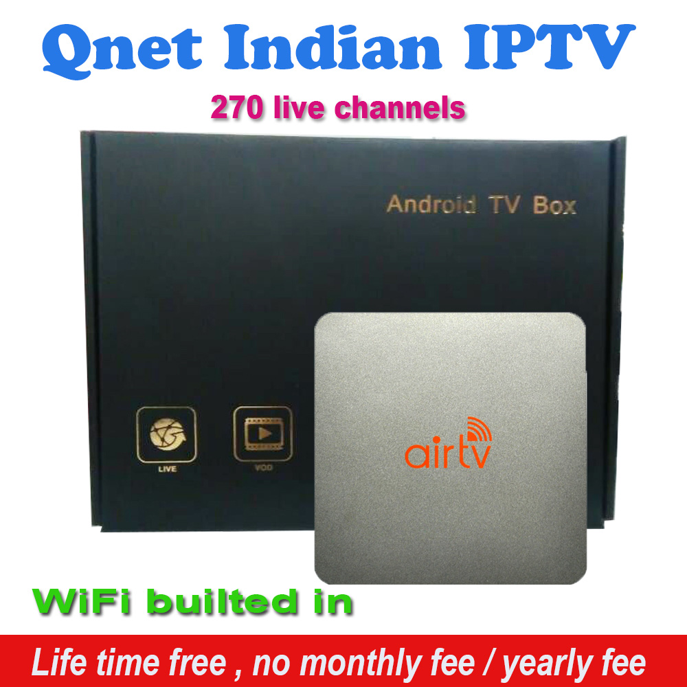2016 Indian IPTV Box support 270+Star Plus, Zee TV, Colors