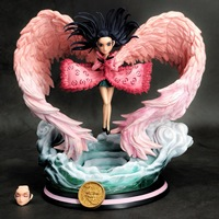 19cm Anime One Piece Nightmare Wing Nico Robin Action Figures GK Model Toys