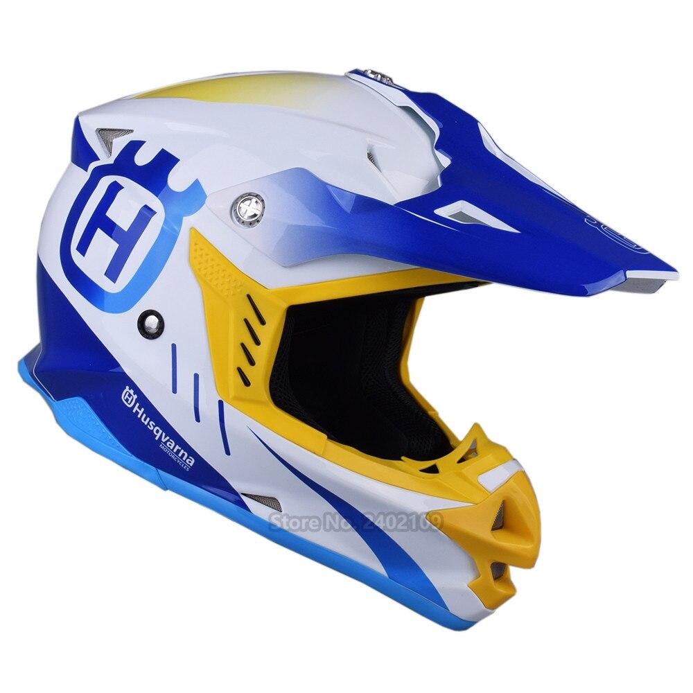 HUSQVARNA Motocross Helmet Off Road Professional Rally Racing Helmets Men Motorcycle Helmet Dirt Bike Capacete Moto