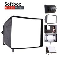 팔콘 눈 foldable LP-1SB/LP-2SB/LP-3SB 소프트 박스 LP-2005TD/LP-2805TD led 패널 라이트 cd50