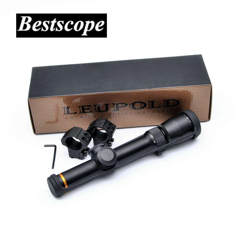 Leupold 1.5-5X20 Optics Riflescope Hunting Scope Mil-dot Reticle Tactical Scope Riflescopes For Airsoft Air Rifles discovery vt t 4 5 18x44sfvf white leters reticle side shooting hunting riflescope rangefinder for airsoft air guns
