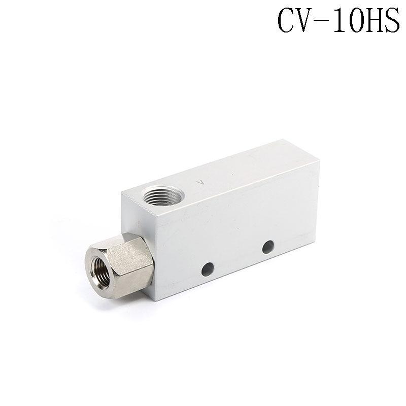 CV-10HS 46L/min Air Comsumption Vacuum Ejector Pneumatic Fitting 0.1-0.6Mpa plastic vacuum ejector generator pneumatic fitting zh07ds