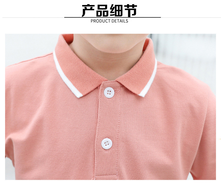 HTB1jAS5XxD1gK0jSZFsq6zldVXaQ - family matching outfits summer Polo shirt mother daughter matching dresses dad son turn down collar family couple clothes