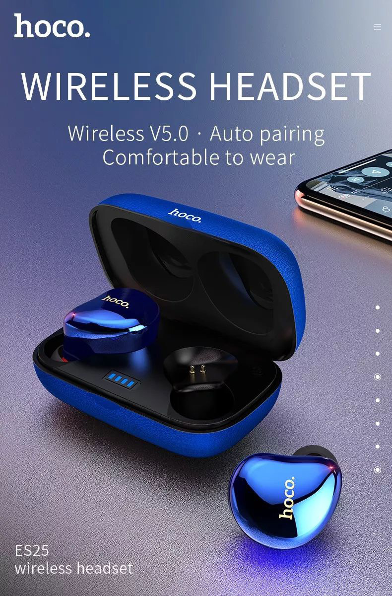 Bluetooth 5.0 CSR Gêmeos TWS A2DP Avrcp