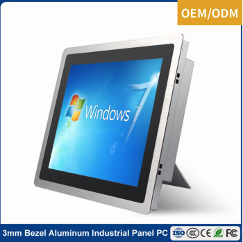 2G 4G RAM 21.5 inch android touch screen all in one pc, fanless industrial pc