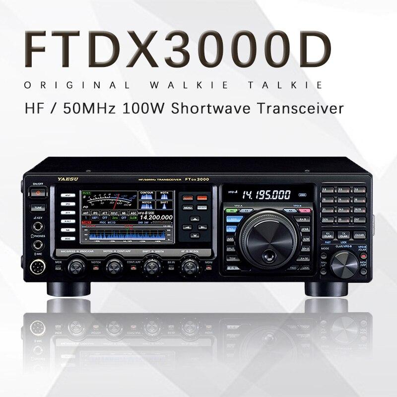 Yaesu FTDX 3000D Shortwave Radio HF/50MHz Multimode Multiband 100w Shortwave Radio Transceiver