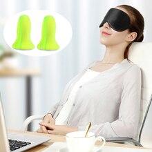 High Quality Sleep Mask Soft Silk Sleeping Eye Mask With Free Earplugs Aid Anti Snoring Slaapmasker For Creative Relaxing Sleep remee lucid dreaming mask eye sleep mask with led