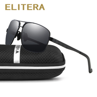 ELITERA Polarized Sunglasses Men New Arrival Brand Designer Sun Glasses UV400 With Original Box Gafas Oculos