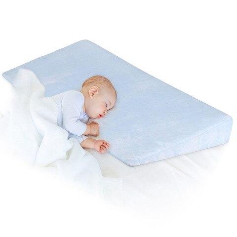 2020 novo sono do bebe posicionador travesseiro anti refluxo alta inclinacao recem nascido bebe berco