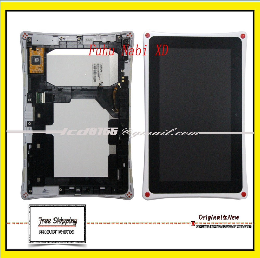 Replacement For Fuhu Nabi XD Capacitive Tablet Touch Screen Digitizer LCD Display Lens Frame 10.1