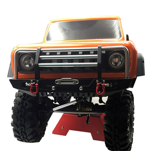 Image 3 - KYX 1/10 RC Crawler Metal Front Bumper for Redcat Racing GEN8 Scout II Parts Accessories