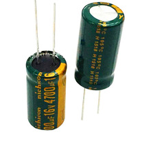 16V4700UF 13X25 10X25 Electrolytic Capacitor 50pcs