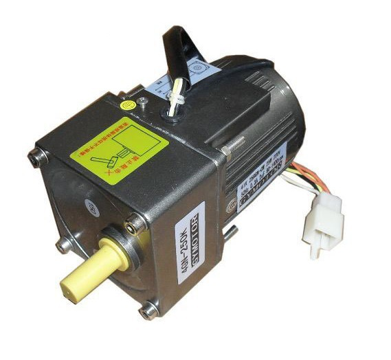 цена на AC 220V 25W Single phase motor, AC regulated speed motor with gearbox. AC high speed motor,