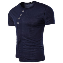2018 літня мода чоловіча футболка випадкова короткі рукави чоловіча футболка чоловічий одяг повсякденний тонкий хіп-хоп вершини футболки