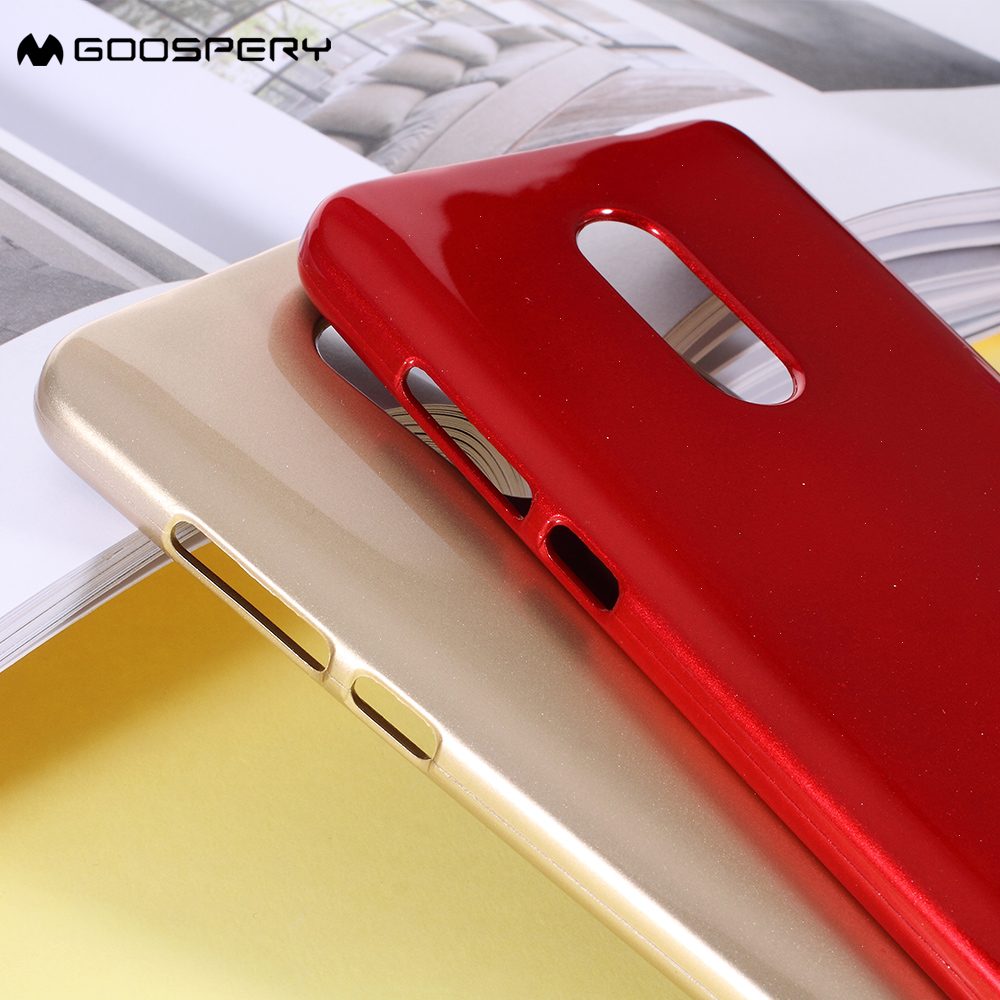 Mercury Goospery For Xiaomi Redmi Note 4x Cases Glitter Powder Tpu Pearl Jelly Case All Type Special  Red Cover 4 55 Inch In Fitted From Cellphones
