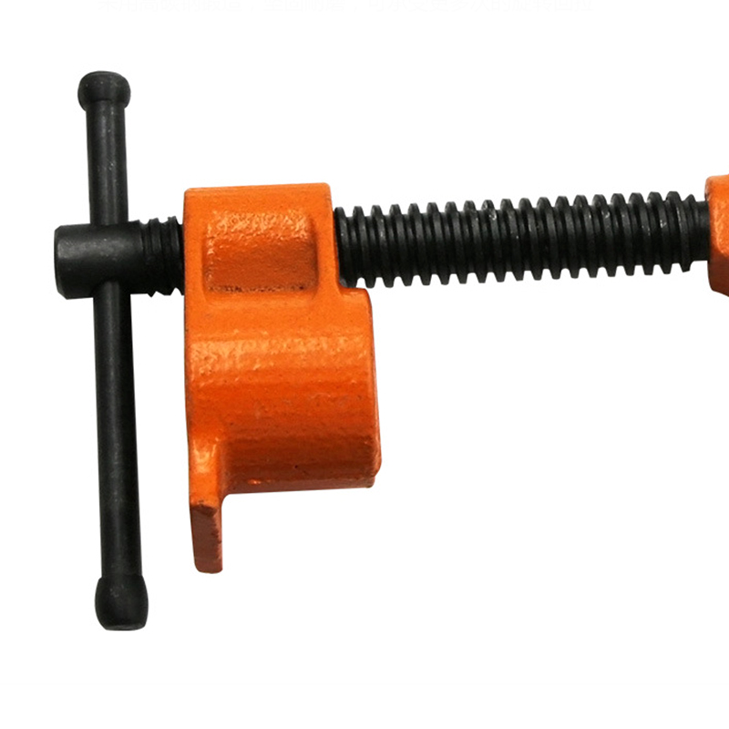 1x Heavy Duty 3//4/'/' Wood Gluing Pipe Clamp Woodworking Cast Iron Tool Adjustable