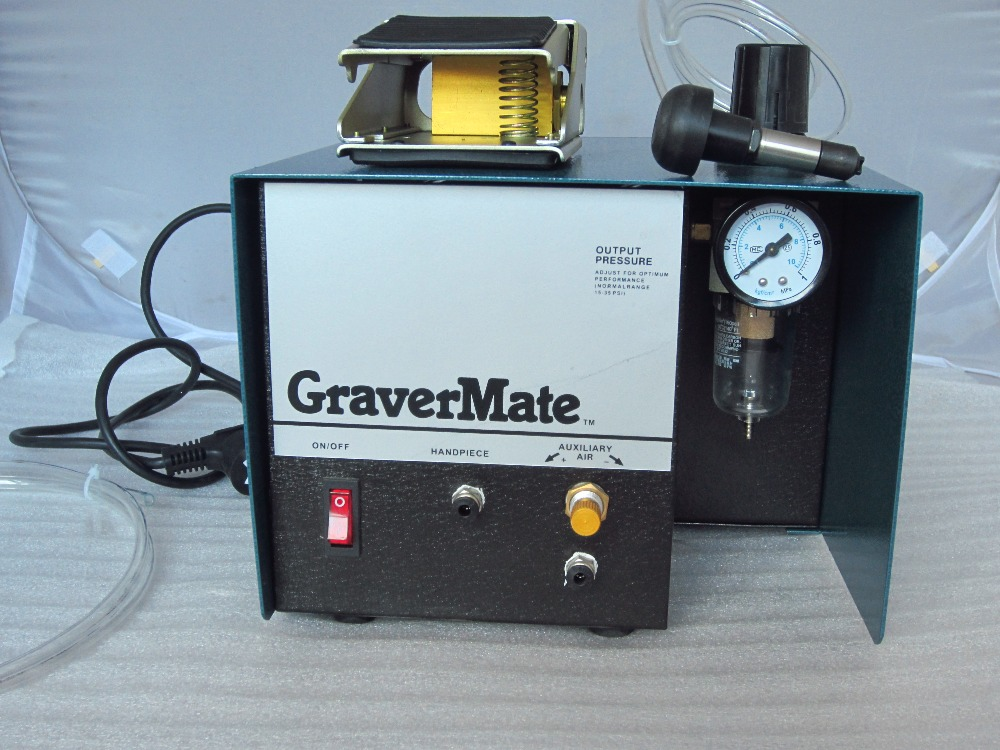 grs Graver Engraving Machine, Jewelry gold metal silver carving makring lettering Equipment, Single Ended Graver mate