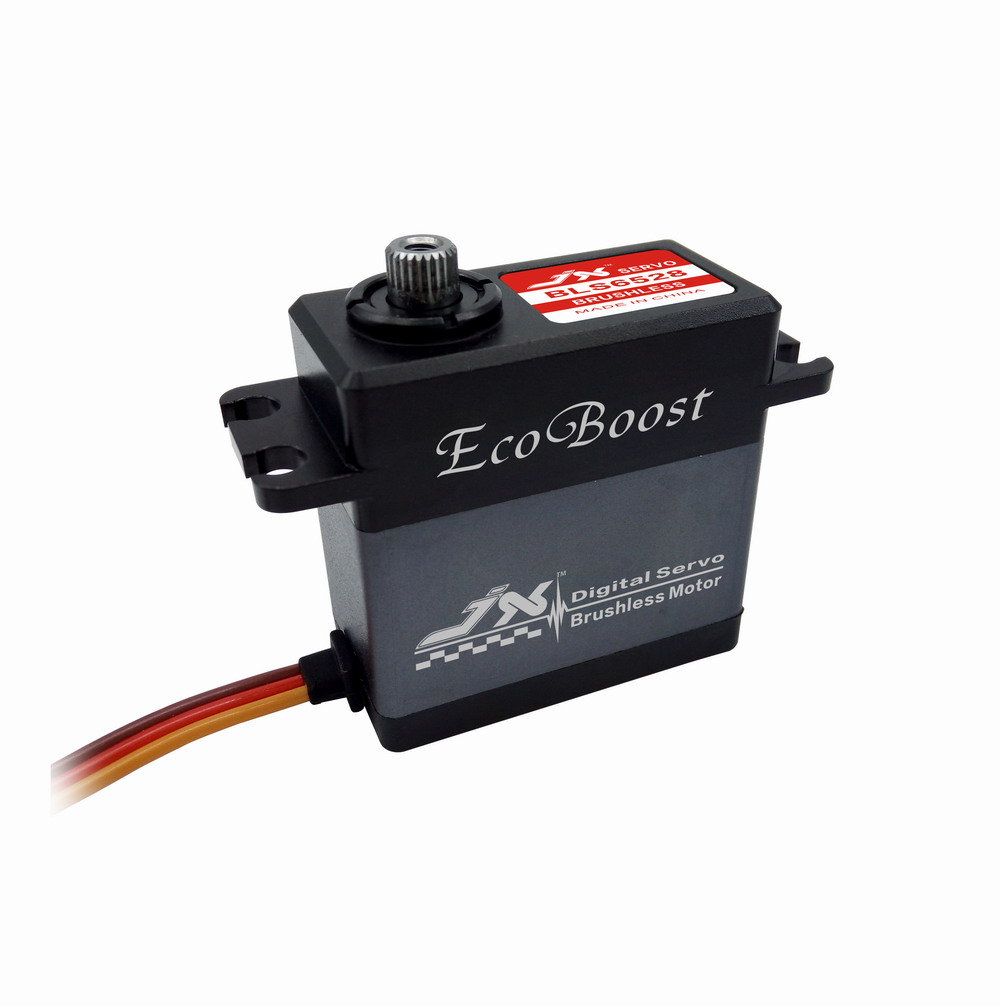Superior Hobby JX BLS6528 28kg Aluminium Shell Metal gear Brushless Digital Servo superior hobby jx pdi hv5212mg high precision metal gear full cnc aluminium shell high voltage digital coreless short servo