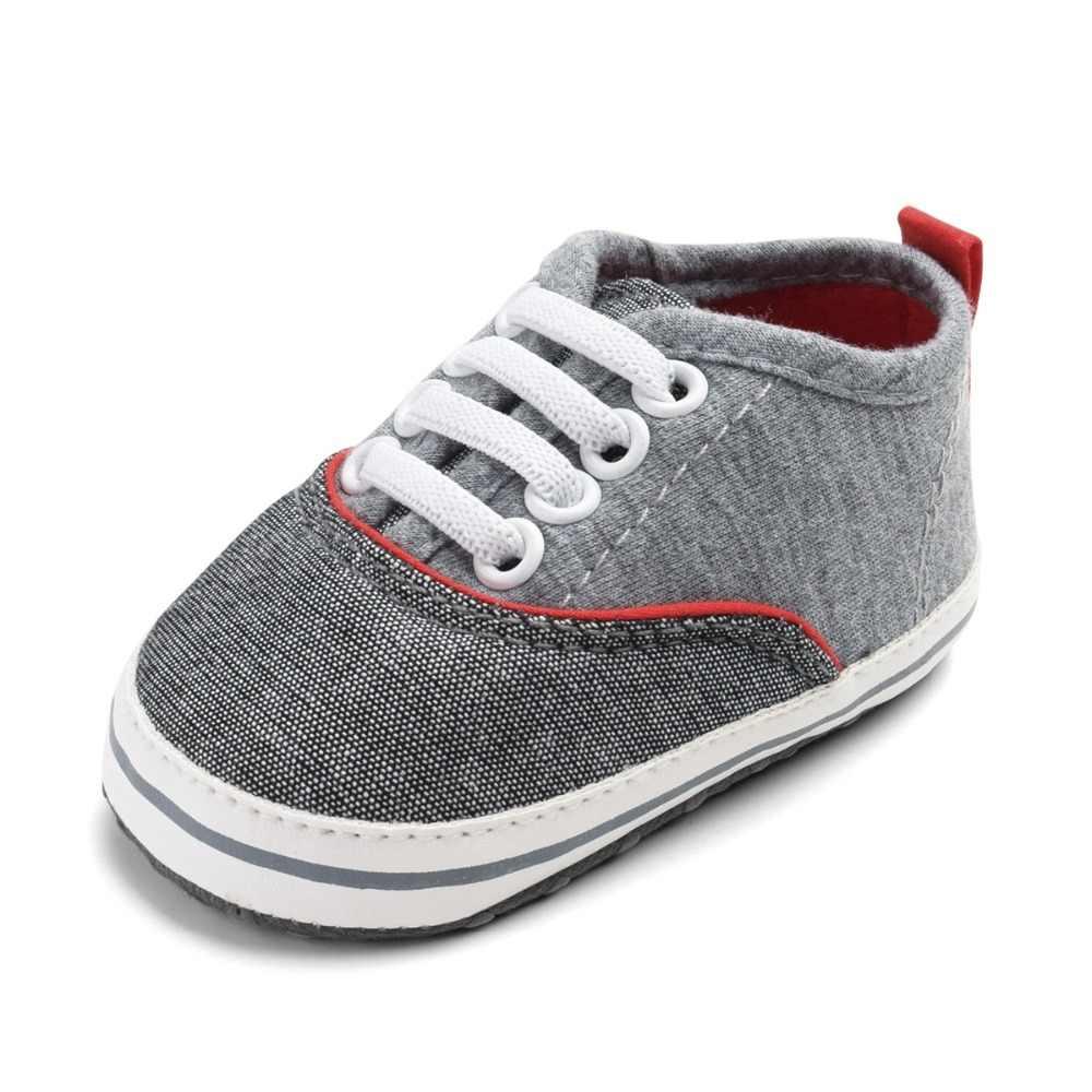 Новая классическая детская парусиновая обувь, джинсы для девочек и мальчиков, Infantil, детские мокасины, мягкая подошва, парусиновая Нескользящая детская обувь