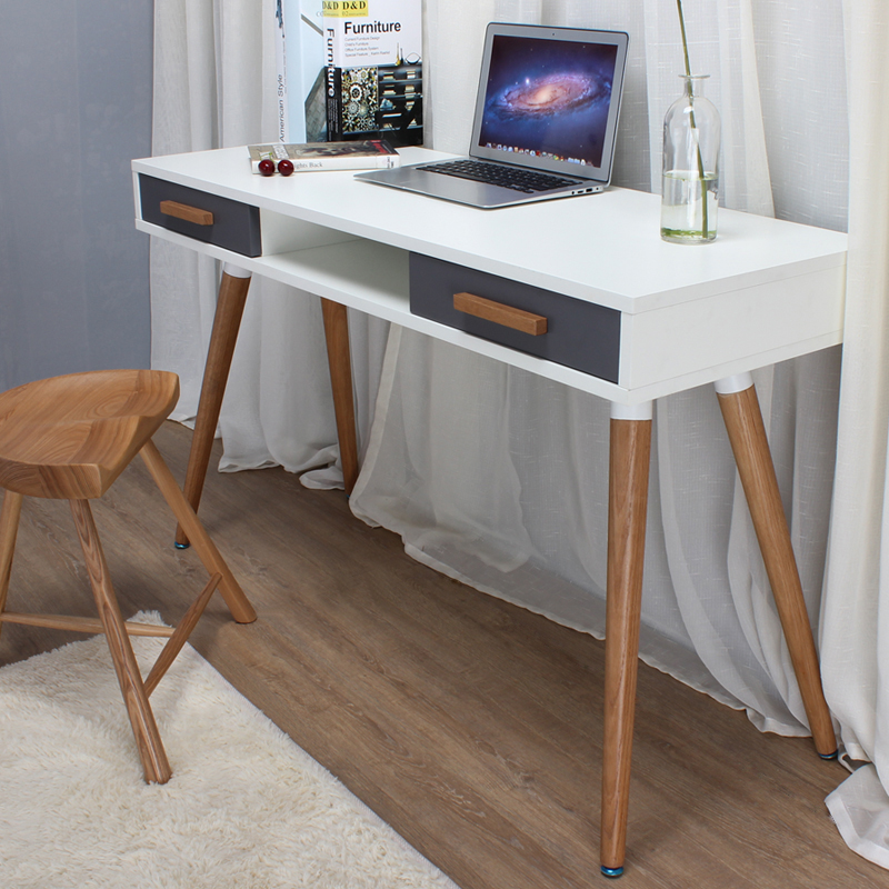 table writing desk cm office products grey wood amp computer study catalog ikea laptop solid home