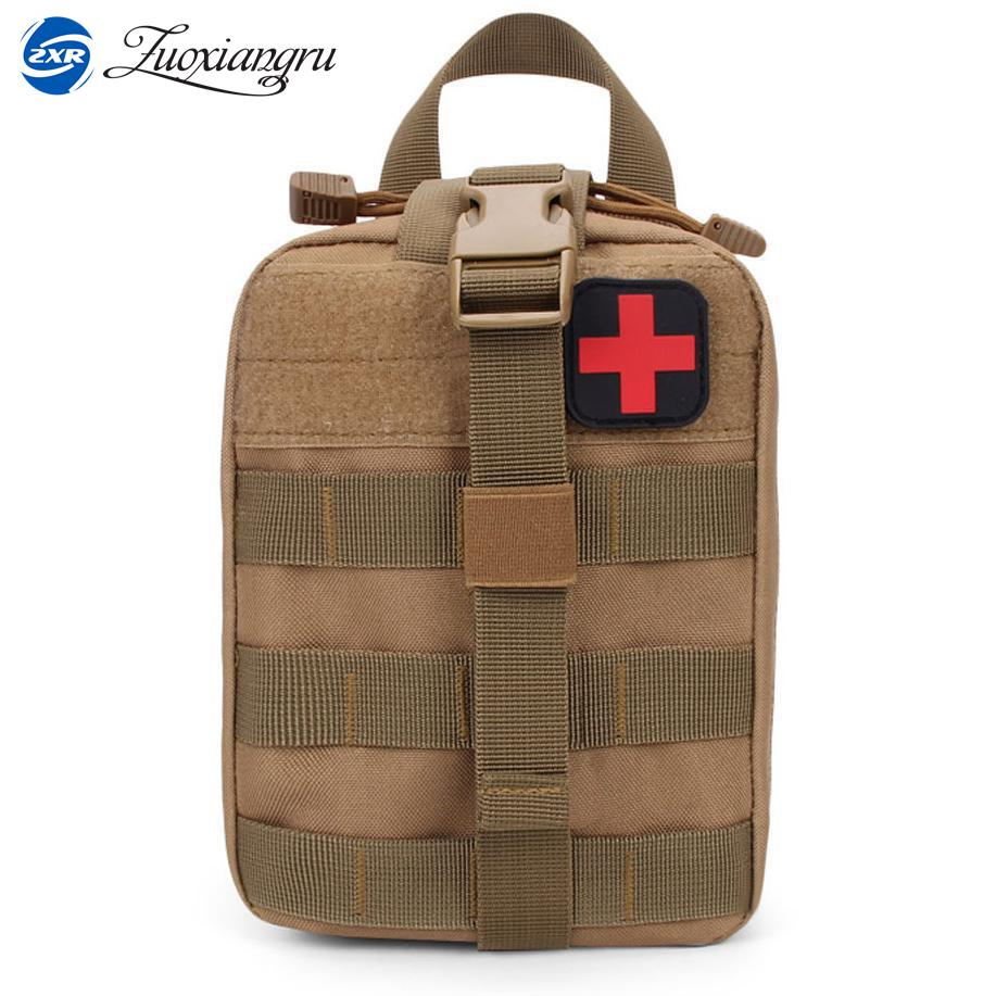 Zuoxiangru Medical Pouch MOLLE Rip-Away EMT Medical Bag First Aid IFAK Blowout Pouch with First Aid Patch