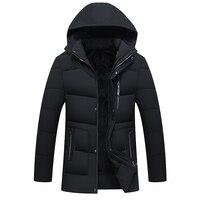 men hat 2018 goose down jacket men winter warm coats men, fashion jackets, down jackets long coats