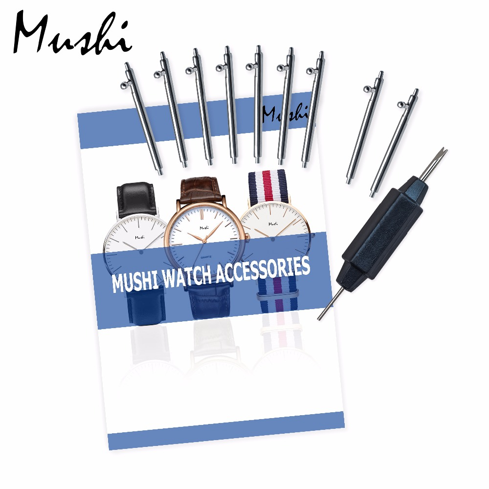 Wholesale High Quality Quick Release Spring Bars 304 Stainless Steel Watcha Spring Pins 10pcs 18mm 20mm 22mm (1.5mm diameter) 4mm 7x19 grade 304 high tensile structure core stainless steel wire rope cable wick high quality wick diy
