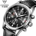 cadisen 2016 top brand luxury mens watch noctilucent chronograph fashion business dress army wristwatch relojes hombre