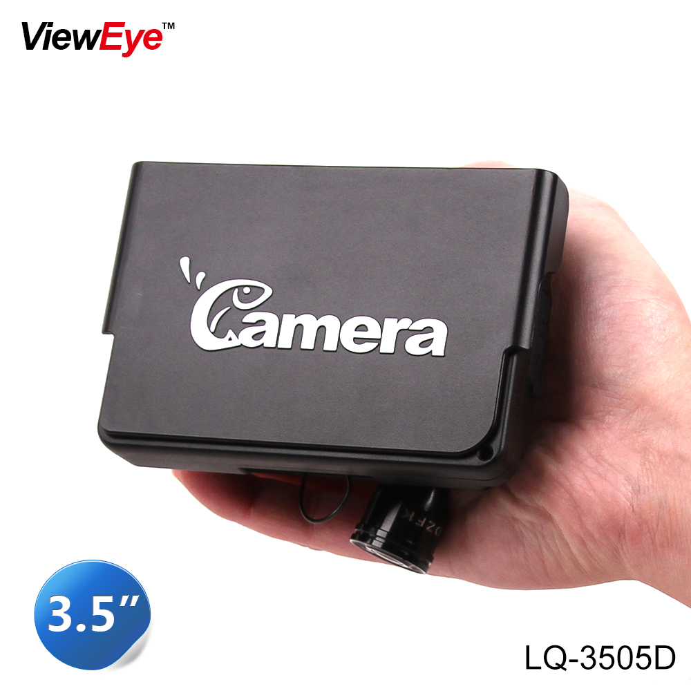 ViewEye Original LQ 3505D 1000TVL 3 5 With DVR Function Professional Underwater Fishing Camera Fish Finder