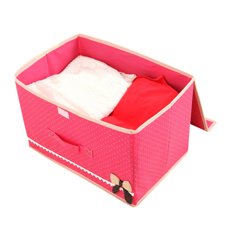 Solid Foldable Non-woven Fabric Cube Storage Box Bins Closet Organizer Toys Container Drawers Clothes Baskets For Home Office
