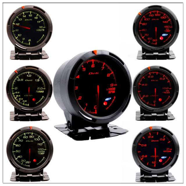 Defi Boost Gauge for BMW E 30 34 36 38 39 46 53 60 82 83 87 90 92 F 11 20 Auto Boost Pointer turbo pressure Meter saat 60 mm