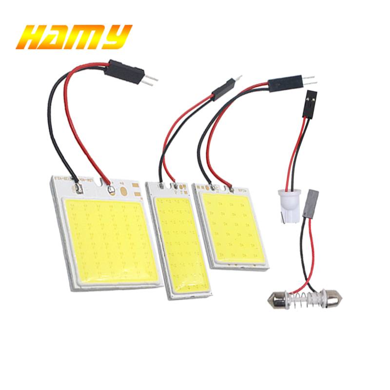 1PCS T10 W5W led car Luggage bulb C5W Fstoon 31mm 36mm 39mm 42m Interior reading lamp License plate light 24smd 36smd 48smd COB cnsunnylight led car reading light interior luggage door lamp free refit portable emergency light for car home office bedroom