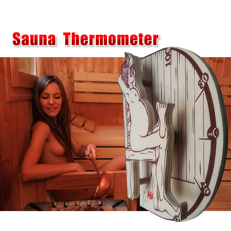 Free shipping high quality sauna accessory cartoon design sauna equipment thermometer hygrometer free shipping high quality sauna accessory cartoon design sauna equipment thermometer hygrometer