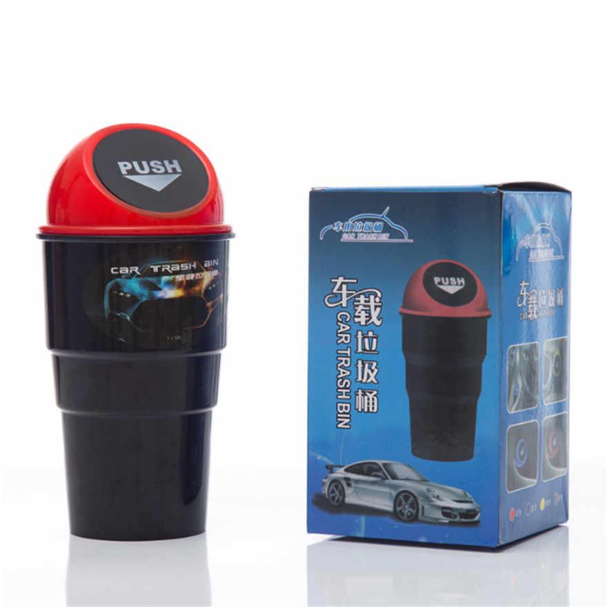 Автомобиль маленькая урна автомобиль творческий мусорный бак Автомобильный интерьер продукты Автомобильная корзина для мусора