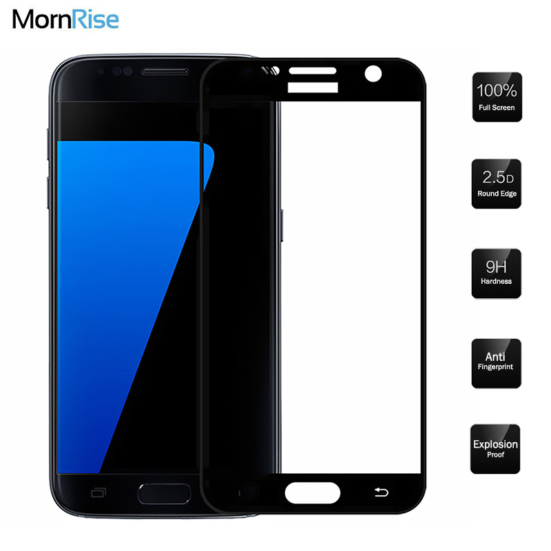 0.26mm Full Screen Tempered Glass Film For Samsung Galaxy S7 Glass Screen Protector 9H Gorilla Protective Glass For Samsung S6