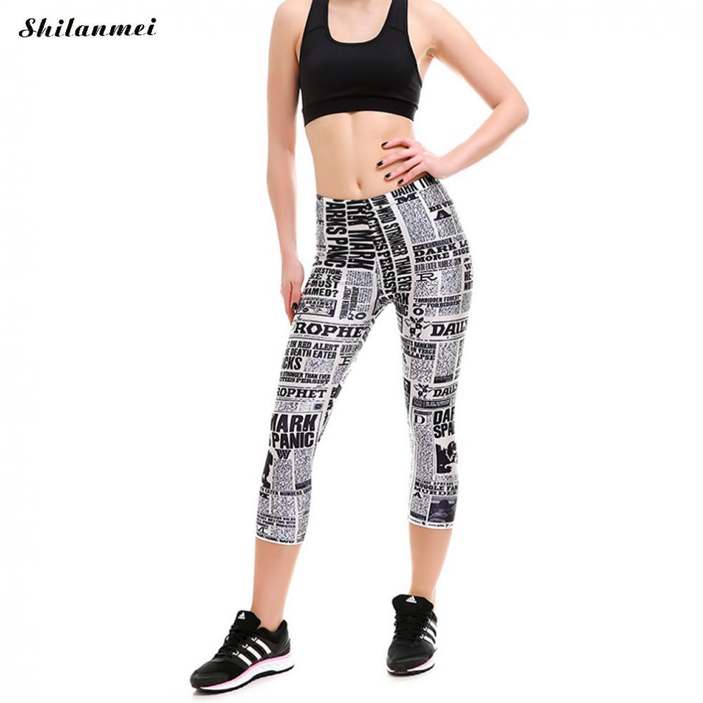 S 4XL Plus Size Yoga Pant Women Legging Tights Pants Sport