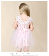 Summer Children Clothing Casual School Toddler Dress for Girls