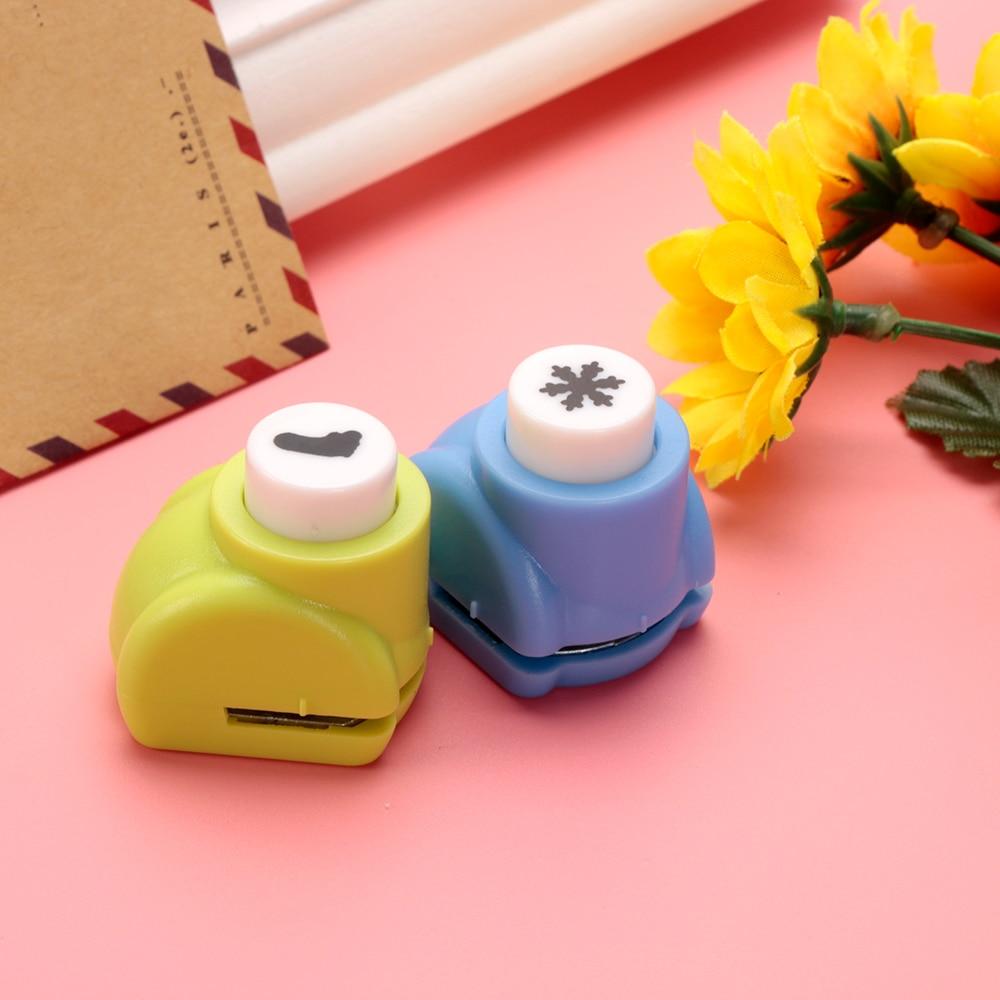 Mini Scrapbook Punches Handmade Cutter Card Craft Calico Printing