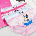 new cartoon cute cat children underwear /2-8 years old girls cotton boxer briefs / baby cotton underwear BU03
