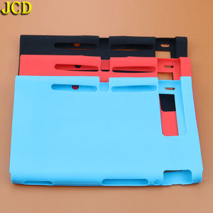 Image 3 - JCD 1Pcs Silicone Rubber Soft Host Display Screen Protective Skin Cover Case For Nintend Switch NS Console Protector Shell