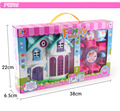 Brinquedos casa de jogo menina bonita casa tema casa suite villa brinquedos para as crianças