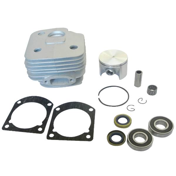 50mm Cylinder Piston Gaskets Crankshaft Bearings Oil Seals Fit 268 268K Chainsaw стоимость