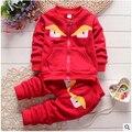 2016 New Spring Autumn baby boys clothing set kids long sleeve hoodies Sport suit set children Jacket + pants 2 pcs