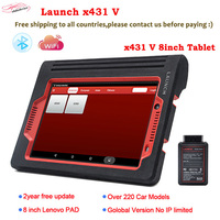 100 Launch X431 V 8inch Wifi Bluetooth Diagnosis Tool Full System X 431 V Scanner Support