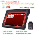 100% Launch X431 V 8inch Wifi/Bluetooth Diagnosis tool Full System X-431 V Scanner Support Multi-Language Online Update DHL free