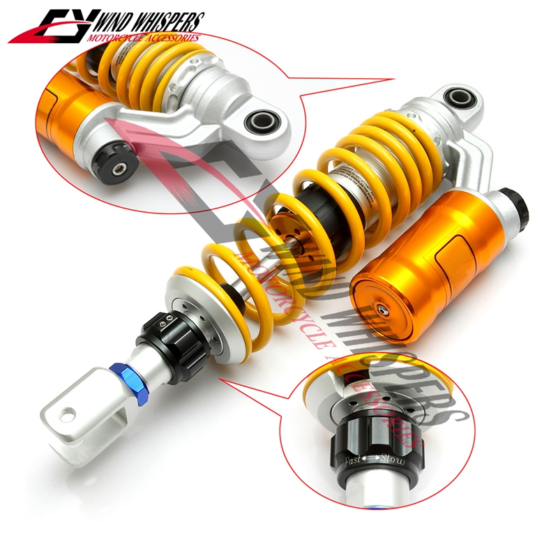 1XPCS 320mm 12 5 Motorcycle modified Adjust damping Nitrogen Shock Absorbers Rear Suspension For Scooter BWS