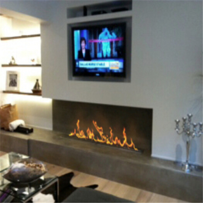 30 Inch Silver Or Black Real Fire Wifi  Intelligent Auto Bioethanol Fireplaces