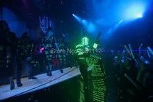 led lights for clothing/ led robot costume/ led light suit/ luminous costumes/ led lights costumes